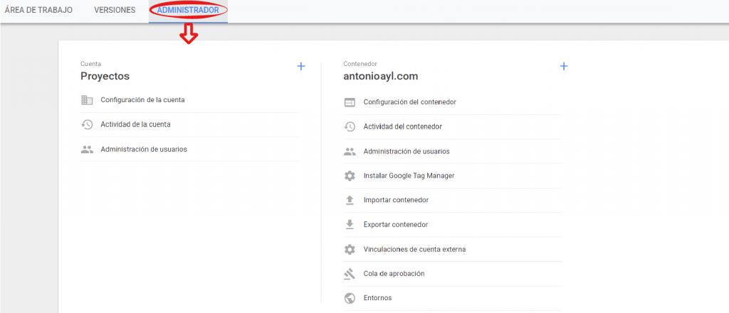 como utilizar google tag manager